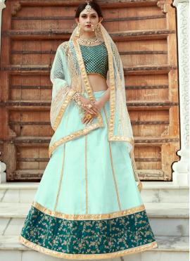 Charismatic Art Silk Zari Work Designer Lehenga Choli