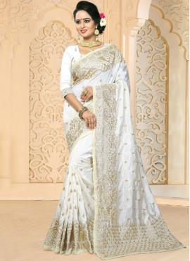 Dainty Traditional Designer Saree For Wedding