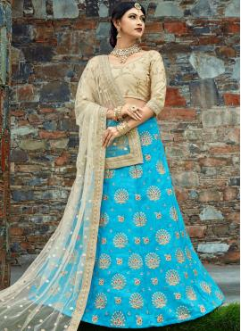 Intriguing Embroidered Work Lehenga Choli