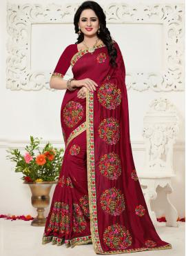 Precious Embroidered Work Saree