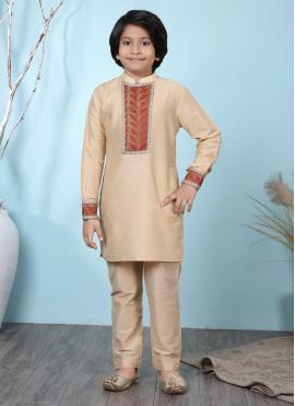 Aesthetic Cotton Silk Kurta Pyjama
