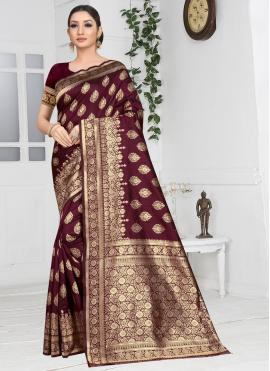 Aesthetic Designer Saree For Party