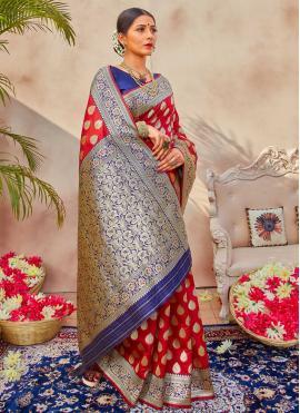 Affectionate Weaving Traditional Designer Saree