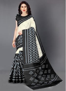 Angelic Multi Colour Printed Designer Saree