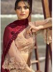 Appealing Pink Thread Lehenga Choli - 1