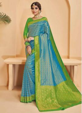 Appealing Weaving Silk Designer Saree