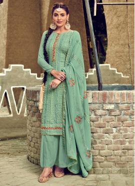 Aristocratic Georgette Party Salwar Suit