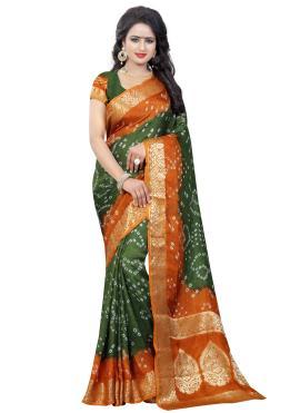 Aristocratic Traditional Designer Saree For Ceremonial