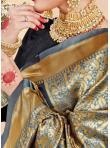 Art Banarasi Silk Designer Traditional Saree in Multi Colour - 2