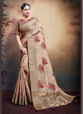 Artistic Classic Designer Saree For Reception