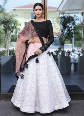 Artistic Sequins Mehndi Readymade Lehenga Choli