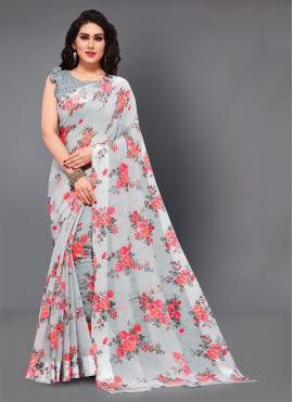 Aspiring Printed Casual Saree