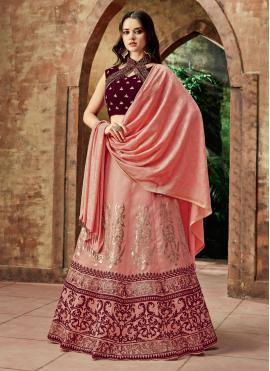 Astonishing Art Silk Lehenga Choli
