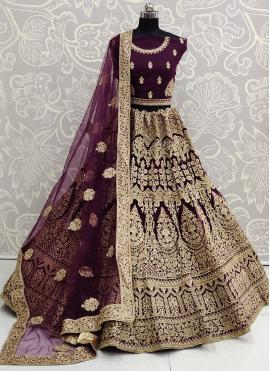 Astonishing Embroidered Reception Designer Lehenga Choli