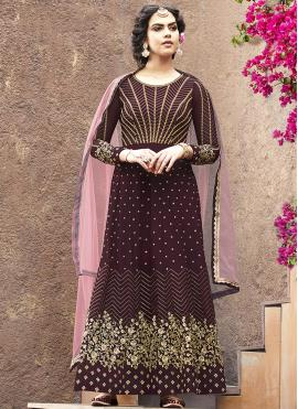 Astonishing Lace Festival Floor Length Anarkali Suit