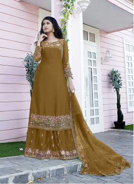 Astonishing Satin Designer Pakistani Suit