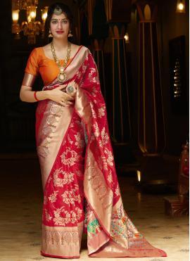 Astonishing Silk Bollywood Saree