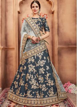 Astounding Lace Art Silk Lehenga Choli