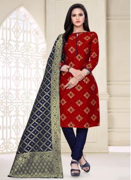Auspicious Churidar Salwar Suit For Festival