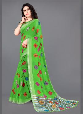 Baronial Cotton Party Classic Saree