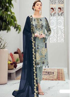 Baronial Net Designer Pakistani Salwar Suit