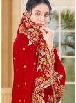 Beauteous Zari Vichitra Silk Designer Traditional Saree - 1