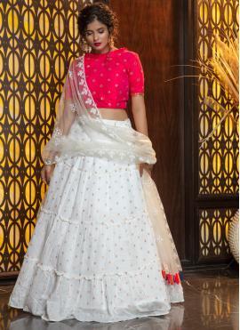 Beckoning Weaving Sangeet Bollywood Lehenga Choli