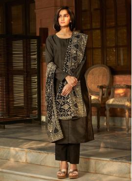 Best Banglori Silk Embroidered Designer Palazzo Suit