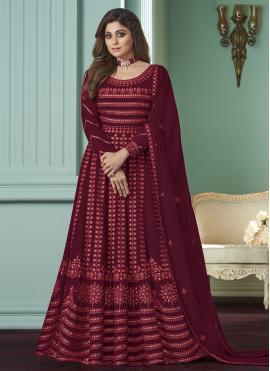 Best Maroon Salwar Suit