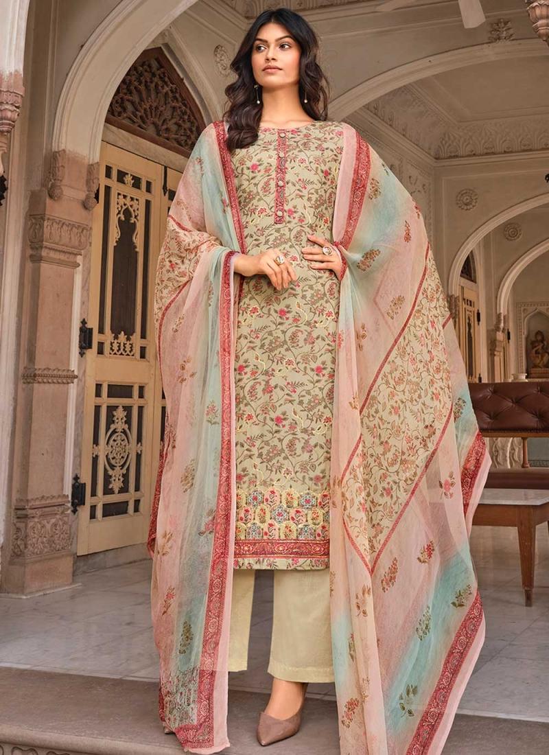 Best Muslin Multi Colour Digital Print Designer Palazzo Suit