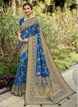 Best Silk Swarovski Traditional Designer Saree