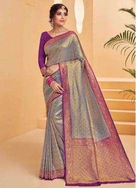 Best Silk Weaving Designer Saree