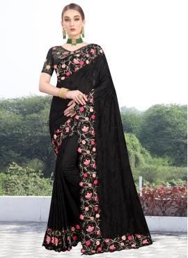 Black Zari Wedding Traditional Designer Saree
