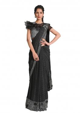 Blooming Designer Saree For Ceremonial