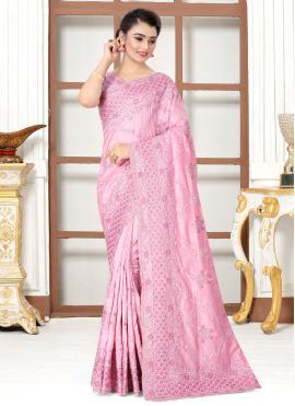Blooming Silk Traditional Designer Saree