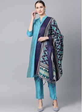 Blue Color Bollywood Salwar Kameez