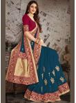 Blue Color Designer Saree - 1