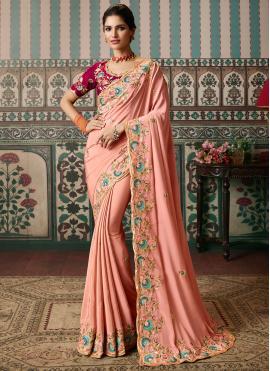 Breathtaking Embroidered Ceremonial Classic Designer Saree
