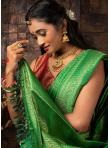 Breathtaking Fancy Festival Designer Traditional Saree - 1