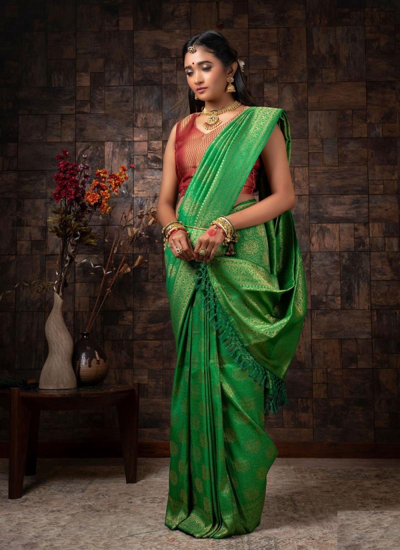 Breathtaking Fancy Festival Designer Traditional Saree