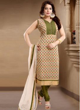 Brown Banglori Silk Plain Churidar Salwar Suit