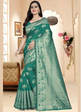 Capricious Silk Party Traditional Designer Saree