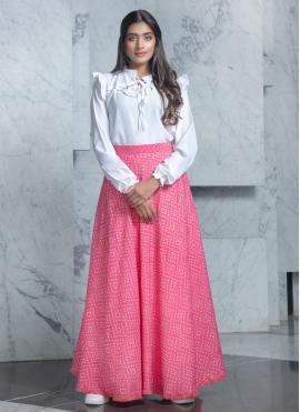 Captivating Cotton Festival Designer Lehenga Choli