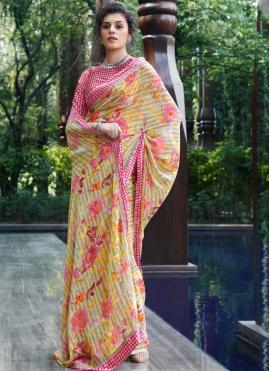 Catchy Designer Saree For Festival
