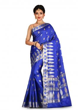 Celestial Banarasi Silk Reception Traditional Saree
