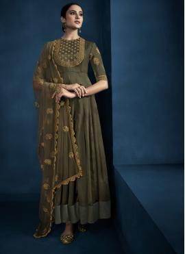 Classical Embroidered Party Trendy Gown