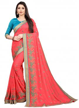 Classical Pink Ceremonial Bollywood Saree