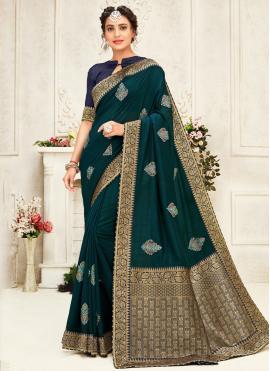 Classical Silk Designer Saree