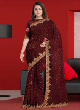 Classy Embroidered Classic Saree