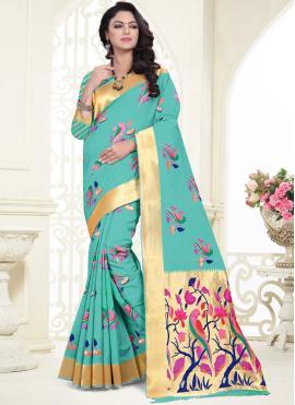 Compelling Banarasi Silk Classic Saree